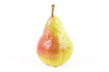 A Bartlett pear.