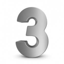 Three is a real number.