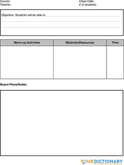 sample lesson plan formats and ideas view download pdf